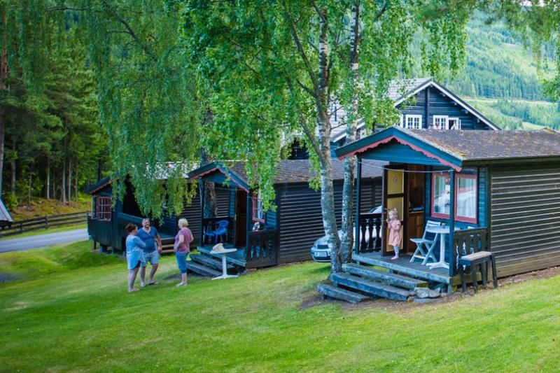 PlusCamp Rustberg Camping kleine hytter
