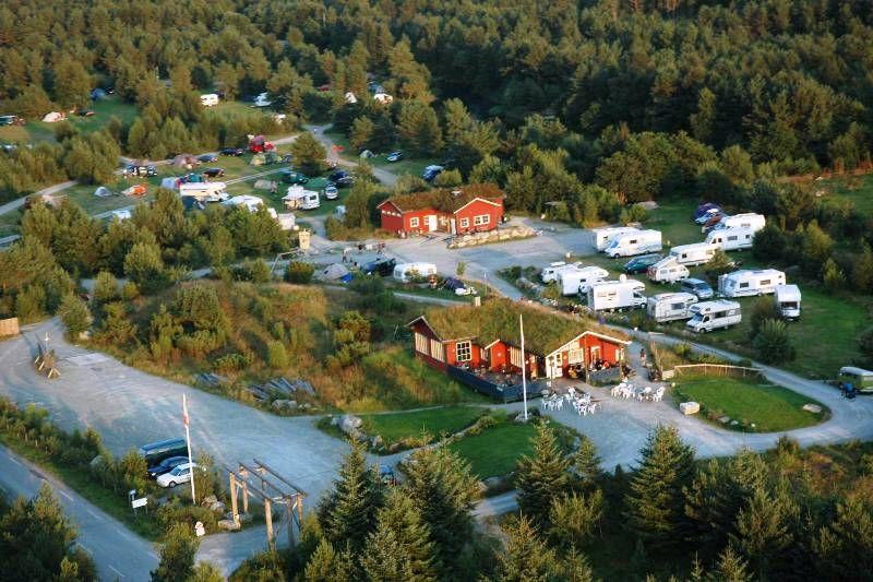 Preikestolen Camping overzicht