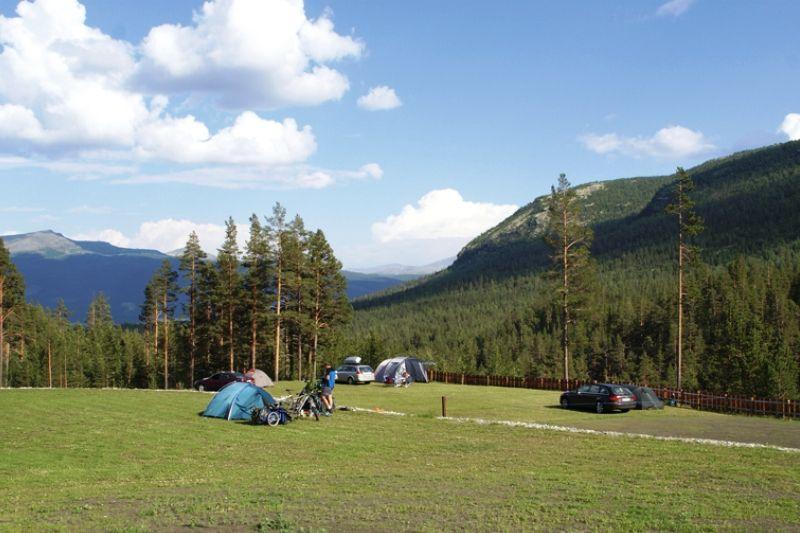 Randsverk Camping uitzicht