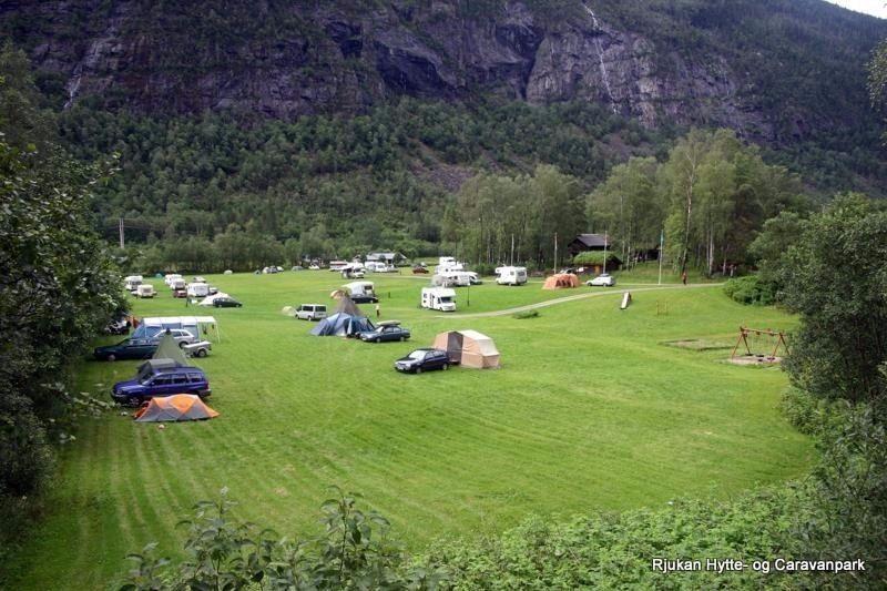 Rjukan Hytte og Caravanpark overzicht