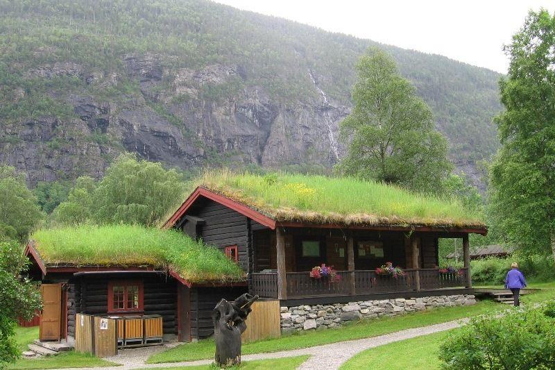 Rjukan Hytte og Caravanpark traditioneel sanitairgebouw
