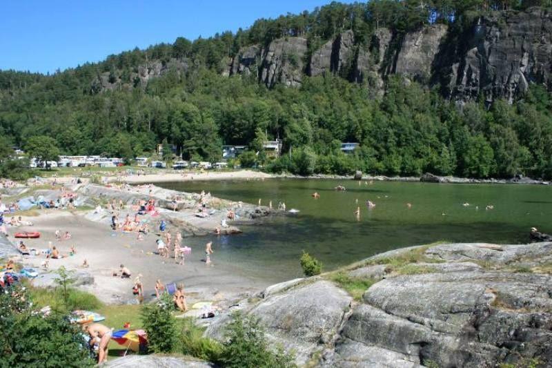 Rognstranda Camping strand