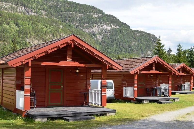 Sanda Camping og Hytteutleie Hytter