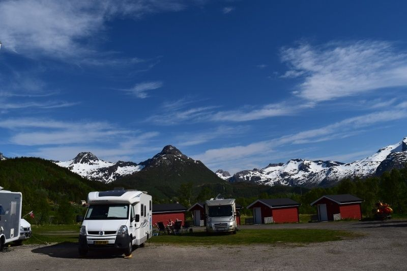 Sandsletta Camping Kampeerplaatsen
