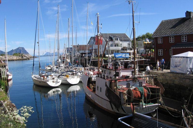 Sandvika Fjord og Sjohus Camping bezoek Kabelvag