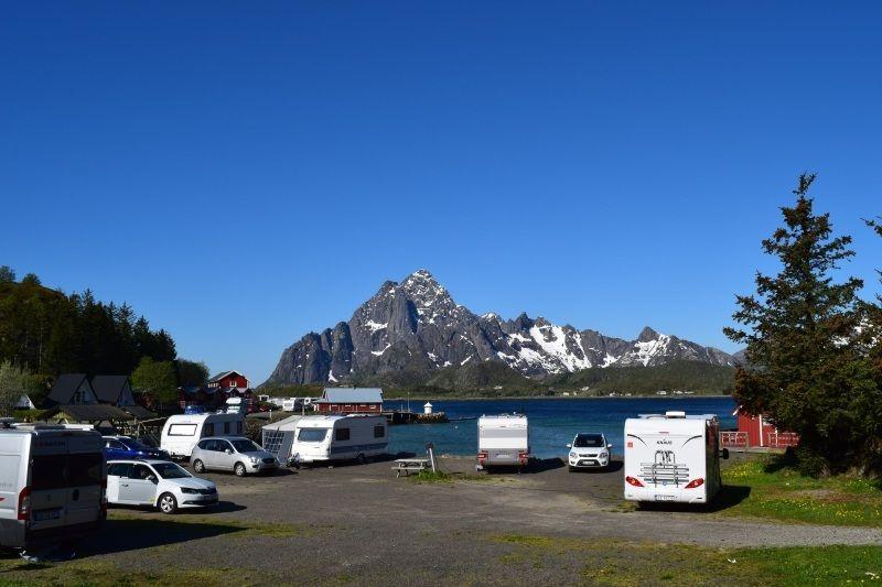 Sandvika Fjord og Sjohus Camping Kampeerplaatsen