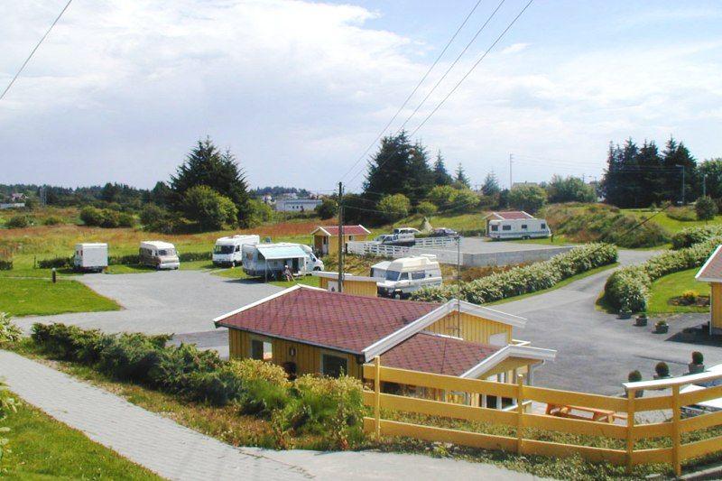 Skudenes Camping ligging