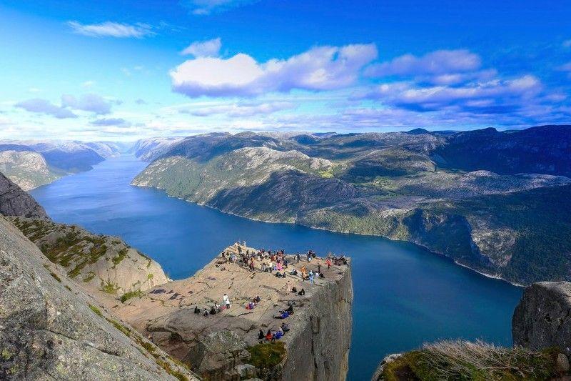 Stavanger Camping wandeling Preikestolen