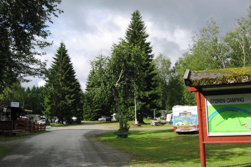 Storen Camping entree en receptie
