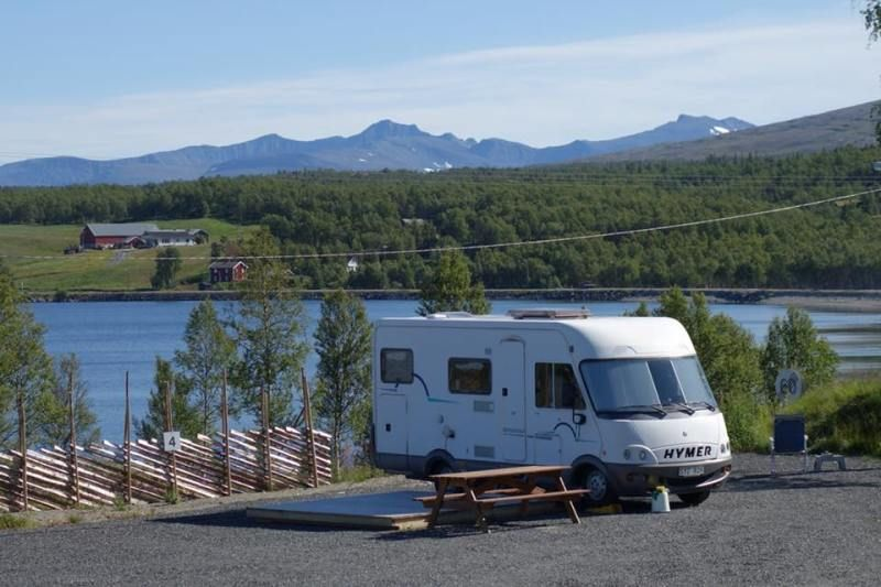 Stugudal Camping Tydal ligging