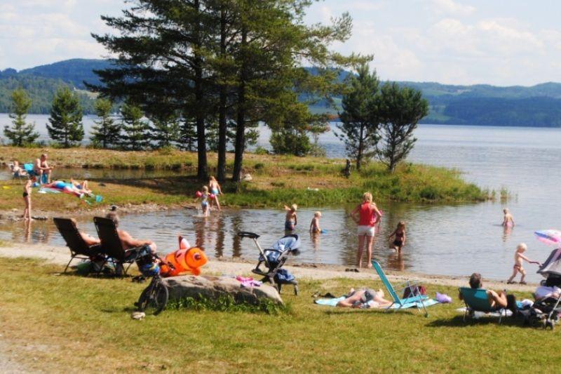 Sveastranda Camping strand