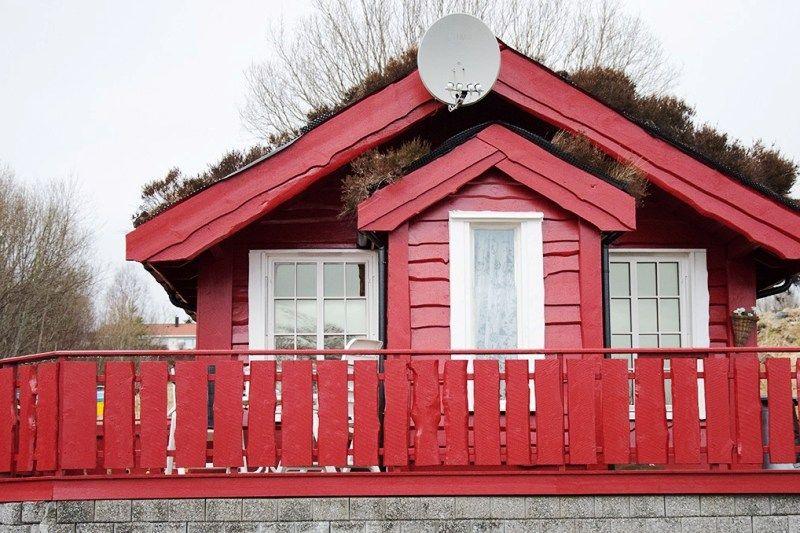 Tornes Fjordcamping hytter