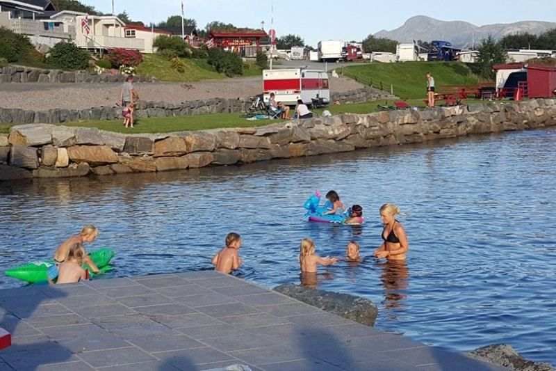 Tornes Fjordcamping waterpret