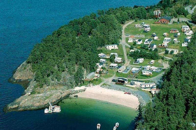 Trasavika Camping Strand en Fjord