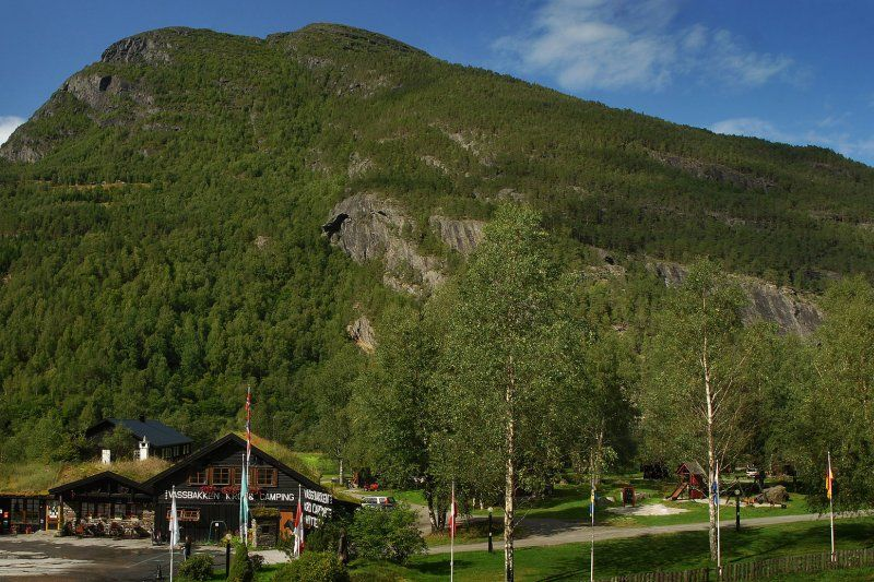 Vassbakken Camping Skjolden Entree
