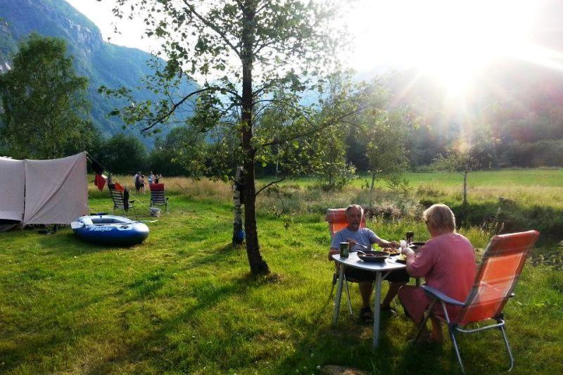 Vassbakken Camping Skjolden Kampeerplaatsen