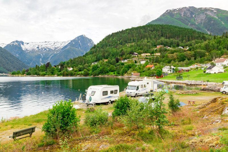 Veganeset Camping Balestrand