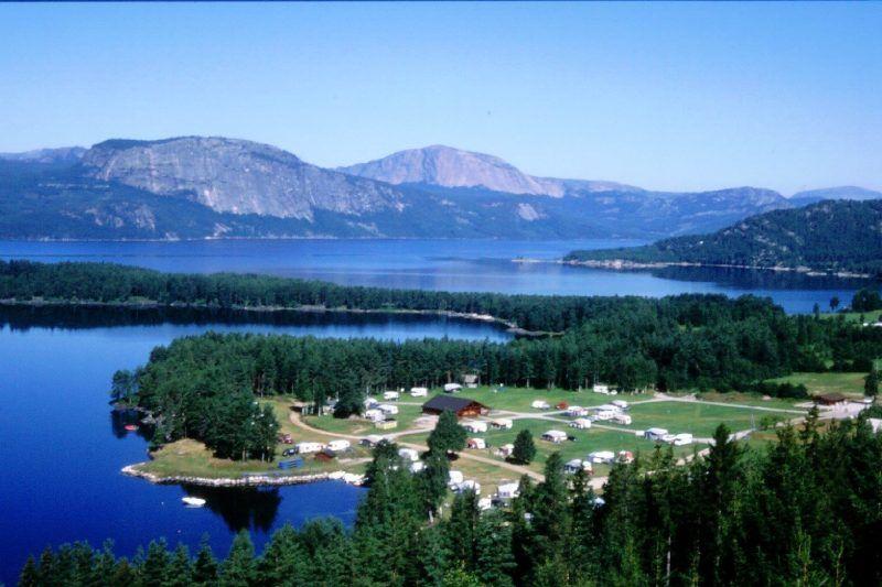Vik Camping Nissedal ligging